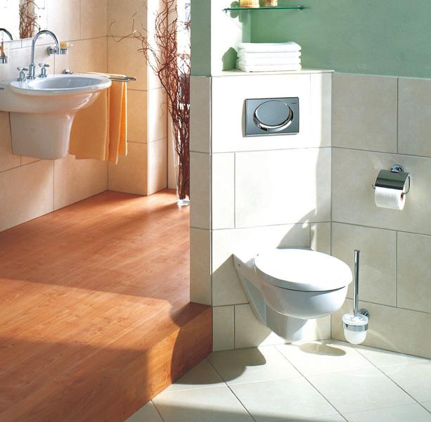 Das Geberit Eckelement Wand-WC für alle Einsatzbereiche
